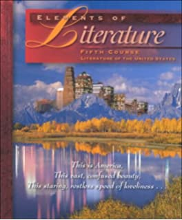 Amazon elements of literature fifth course teacher edition elements of literature fifth course fandeluxe Image collections