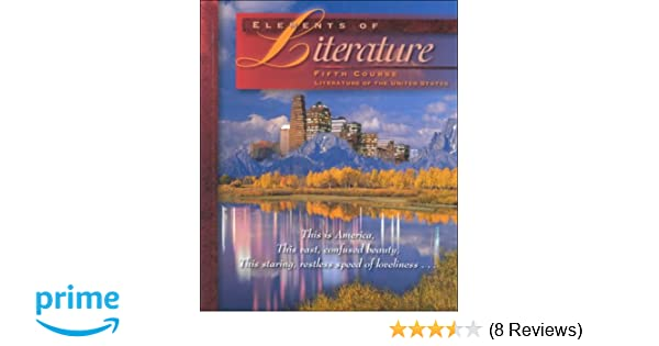 Elements Of Literature Fifth Course Robert Anderson
