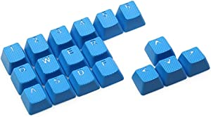 Rubber Gaming Backlit Keycaps Set - for Cherry MX Mechanical Keyboards Compatible OEM Include Key Puller