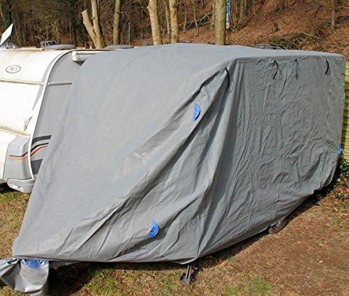 Incubado Wetterfeste Wohnwagen Schutzhülle Wohnmobil Abdeckung Abdeckplane Caravan Plane M 5 5 M Länge Auto