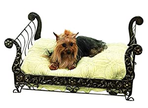 Amazon.com : Posh Antique Style BRASS SLEIGH Dog Pet Bed