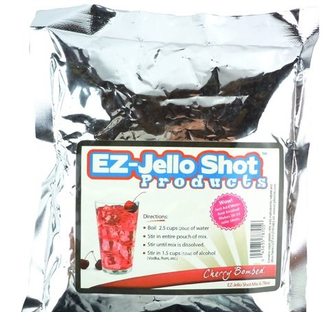 Cherry Bombed EZ-Jello Shot Mix 6.78 oz ()