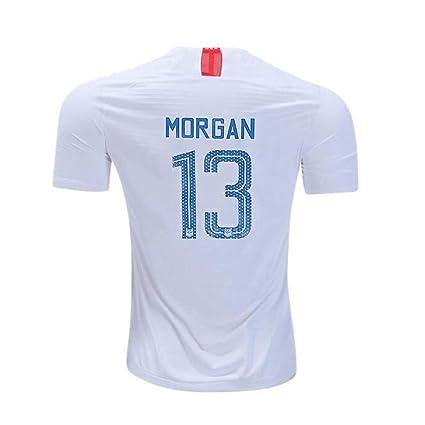 8505dc923ef Womens Morgan  13 USA National Alex 2018 19 Star Home Jersey White (White