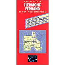 IGN PLAN : CLERMONT FERRAND NO.72229 (+LIVRET)