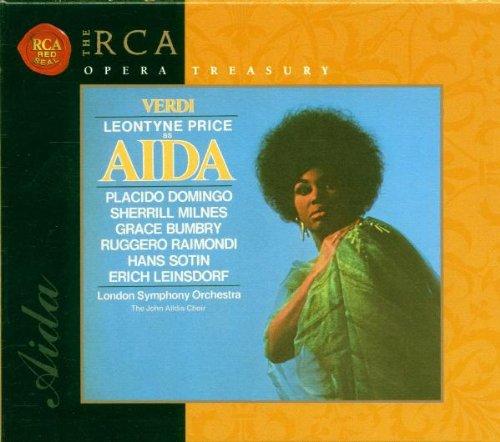 RCA Opera Treasury - Verdi: Aida / Leinsdorf, Price, Domingo, Milnes, Bumbry, et al