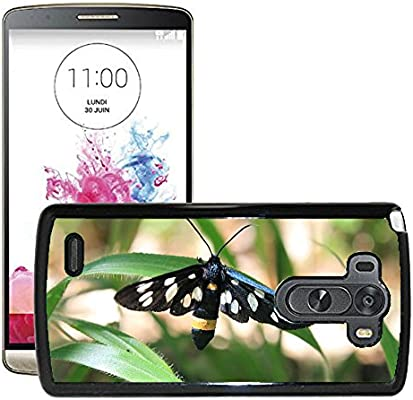 hello-mobile Etui Housse Coque de Protection Cover Rigide pour // M00136014 Amata Negro mariposa polilla phegea // LG G3 VS985: Amazon.es: Electrónica