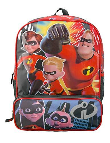 Disney Incredibles 2 16 Inch Backpack With Bonus Super Hero Eye Mask]()