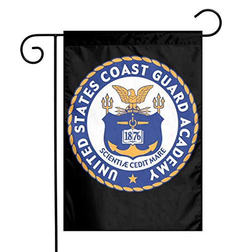 United States Coast Guard Academy Garden Flag Decorative Yard Flags For Celebration,Festival,Home,Outdoor,Garden Decorations 12 X 18 Inch ()