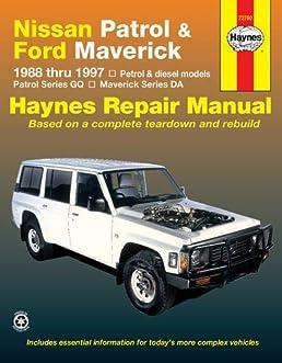 nissan patrol ford maverick 88 97 haynes automotive repair rh amazon com 1973 ford maverick repair manual 1976 ford maverick repair manual