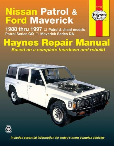 nissan patrol ford maverick 88 97 haynes automotive repair rh amazon com Old Nissan Models Nissan Patrol Pick Up