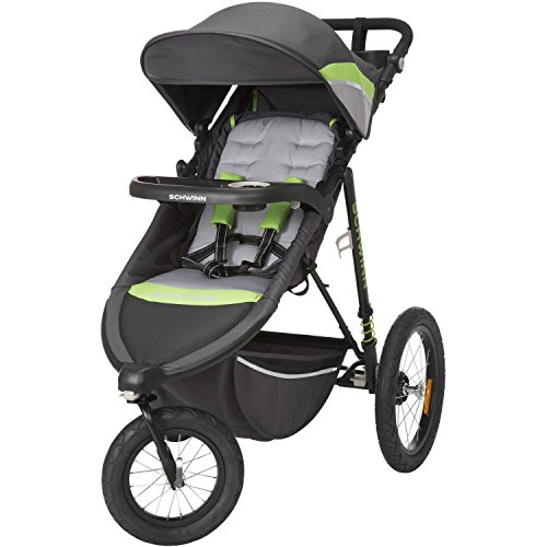 Schwinn Interval Jogging Stroller, Greenery by Schwinn