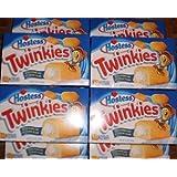 50 Hostess Twinkies Golden Sponge Creamy Cakes