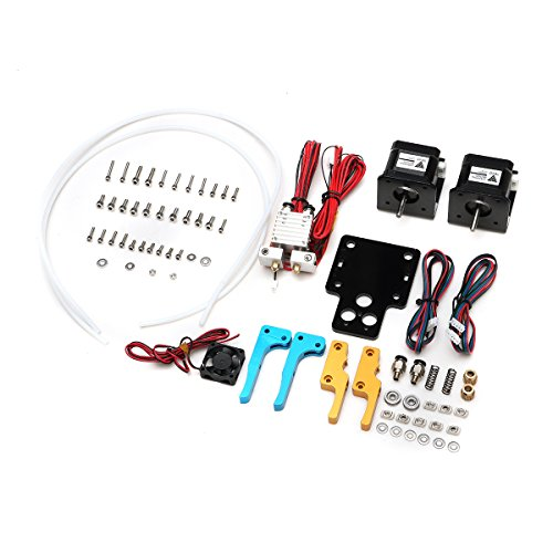 TEVO Tarantula Dual Extruder Upgrade Kit + Nema Stepper Motor With Cooling Fan For 3D Printer