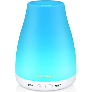 best URPOWER 2nd Version Essential Oil Diffuser Aroma Essential Oil Cool Mist Humidifier with Adjustable Mist Mode reviews