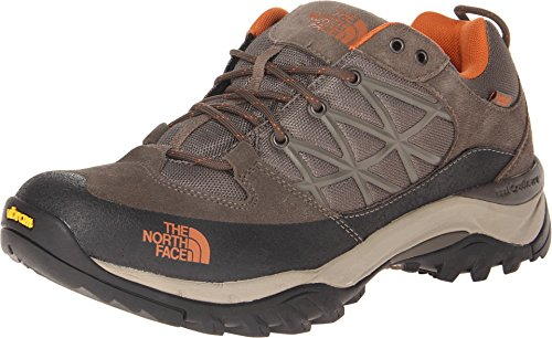 The North Face Men's Storm Waterproof Hiking Shoe Shroom Brown/Burnt Orange Size 11 M US