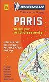 Michelin Paris Plan Par / By Arrondissements Spiralé/Spiral No. 16