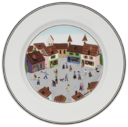 Villeroy & Boch Design Naif salad plate # 4 Old Village Square