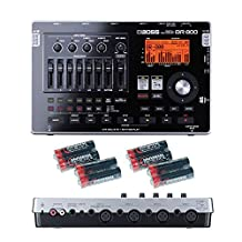 Boss BR-800 8-track Digital Recorder with Free 8 Universal Electronics AA Batteries