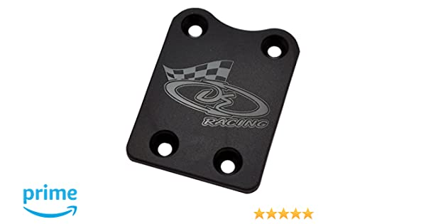 DE Racing 210K XD Rear Skid Plate for Kyosho MP9 MP9E