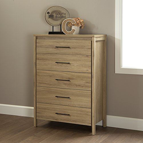 South Shore Gravity 5 Drawer Rustic