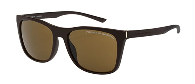 3eafabc65516 Image Unavailable. Image not available for. Colour  NEW Porsche Design P  8648 B Dark Brown Sunglasses