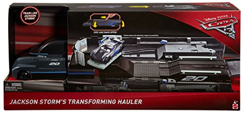 Disney  Cars 3 Jackson Storm's Transforming Hauler Playset