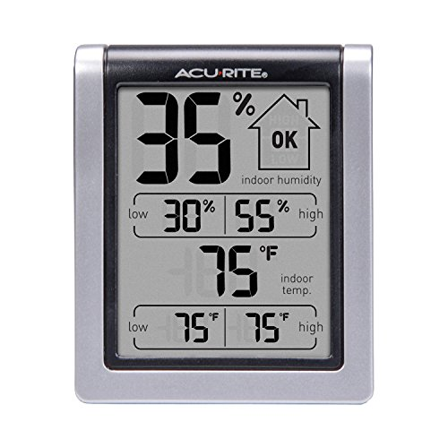 00613 Humidity Monitor with Indoor Thermometer, Digital Hygrometer and Humidity Gauge Indicator