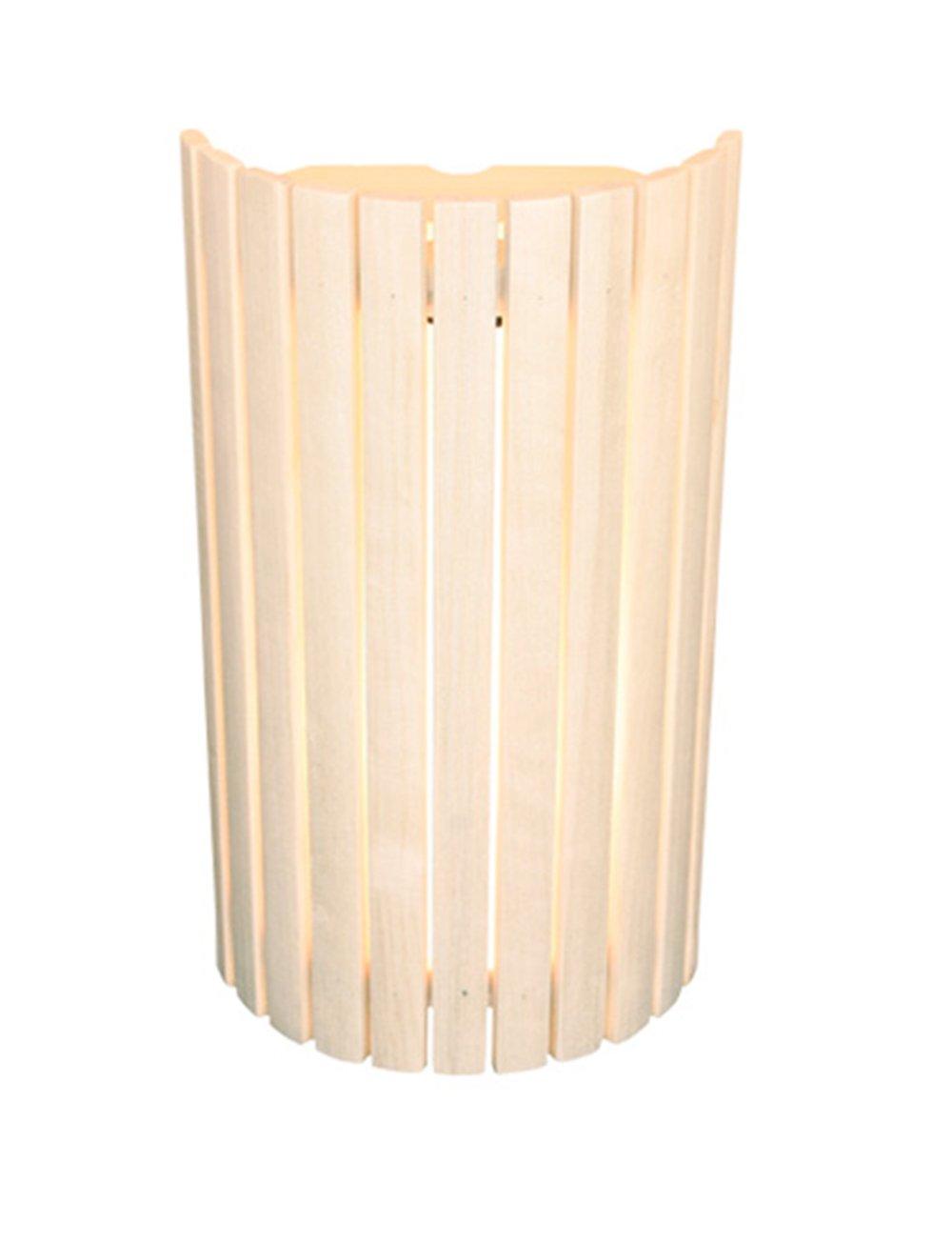 Saunalampe Blendschirm aus Holz f/ür blendfreies Licht in der Sauna WelaSol /® Sauna Lampenschirm 914 Lampenschutz