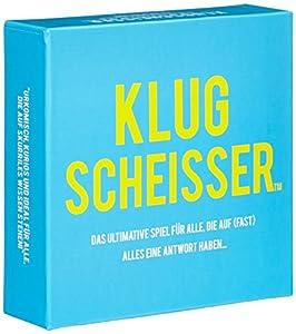 KLUGSCHEISSER - das ultimative Spiel für alle, die auf (fast) alles eine...