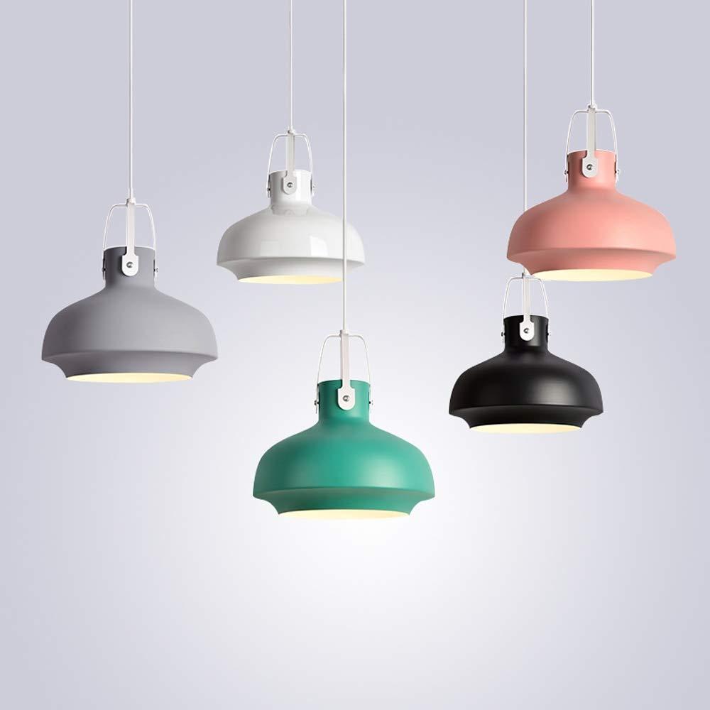 DHmart Colorful Pendant Lamps Modern Vintage Hanging Lamp Bar Restaurant Bedrooms E27 Art Pendant Lights Home Decoration Lighting