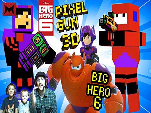 Big Hero 6 with Hiro & Baymax Team Fight Battle