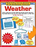 Weather, Mary Kay Carson, 0439278562