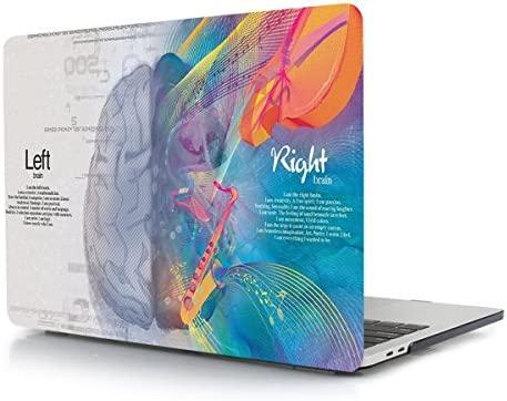 TwoL Funda MacBook Pro 15 Retina, Plástico Funda Dura Carcasa para MacBook Pro 15.4 Pulgadas Model:A1398 (Brain)