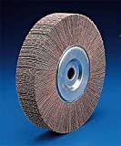 3M 244D Coated Aluminum Oxide Flap Wheel - 80 Grit - 1 in Face Width - 3 in Dia - 20000 Max RPM - 14608 [PRICE is per WHEEL]