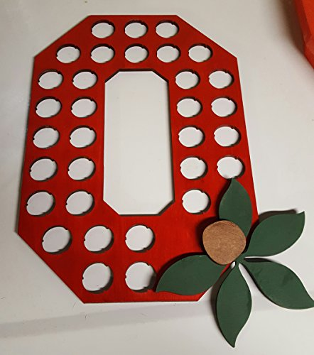 Osu Block (Block O Bottle Cap Holder Ohio State)