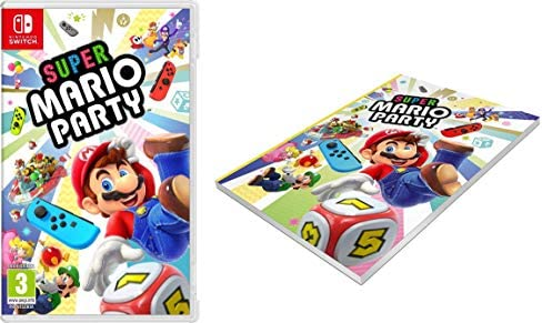 Super Mario Party + Cuaderno: Amazon.es: Videojuegos