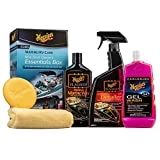 Meguiar's M6385 Marine/RV Care New Boat Owner's Essentials Box Kit, 1 Pack