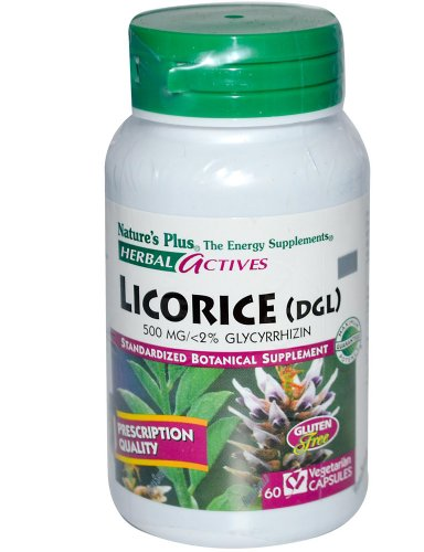 Dolly Licorice Les Dollies (Nature's Plus - Licorice (Dgl), 500 mg, (1-Pack of 60))