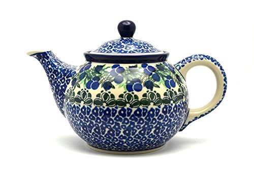 Polish Pottery Teapot - 3/4 qt. - Huckleberry