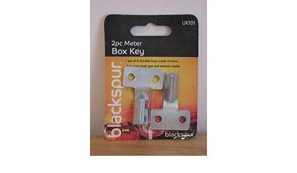 REGIN REGQ616 METER BOX KEYS 2 PACK GAS METER KEYS
