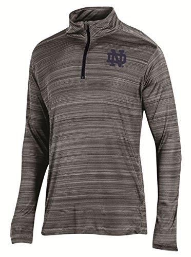 (Notre Dame Fighting Irish NCAA Champion Full Blitz Men's 1/4 Zip Pullover Shirt)