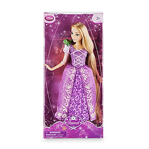 Disney Rapunzel Classic Doll with Pascal Figure - 12 Inch