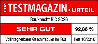 Lavavajillas Bauknecht BIC 3C26 completamente integrable ...