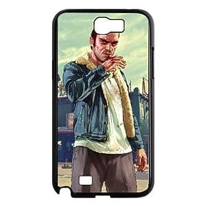 Samsung Galaxy N2 7100 Cell Phone Case Black Grand Theft Auto V U3V6TB