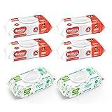 Huggies Toallitas Húmedas, Cuidado Hidratante Y Cuidado Natural, 560 Toallitas, Pack of 1