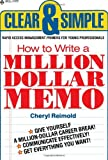 How to Write a Million Dollar Memo, Cheryl Reimold, 0440537827