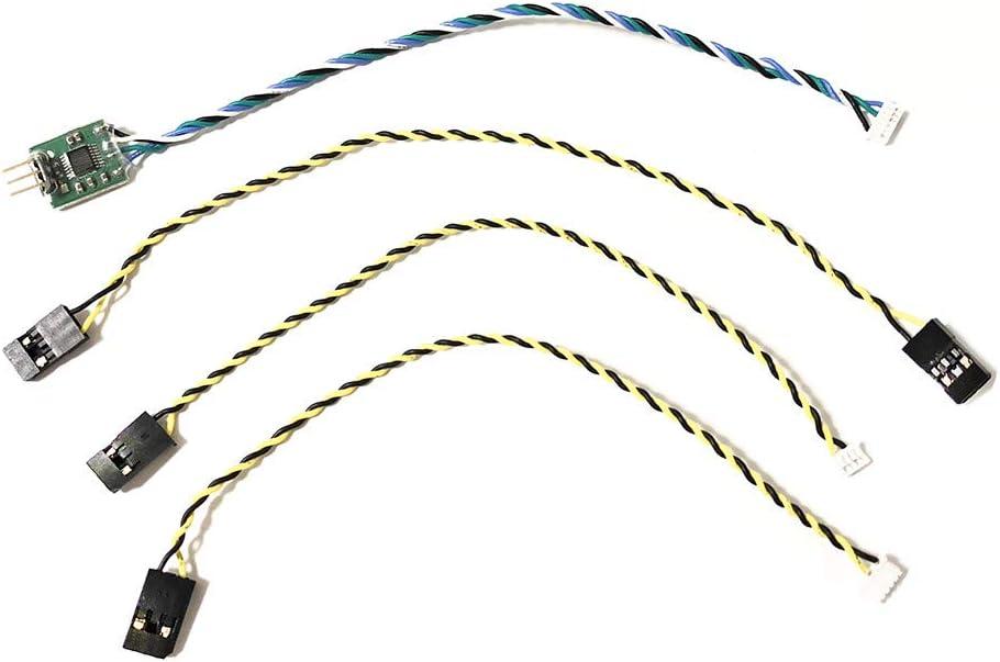 BouBou Cable De Telemetría RC Drone para Controlador De Vuelo Pixhawk-X8R Y Receptor Frsky X8R / X4Rsb / R-Xsr