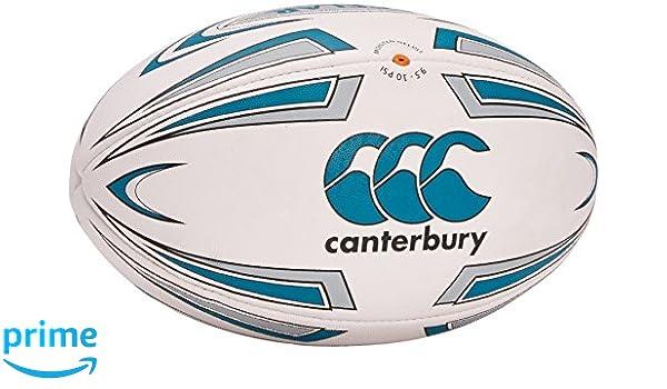 Canterbury Acelar - Pelota de Rugby, Color Blanco, Talla Size 5 ...