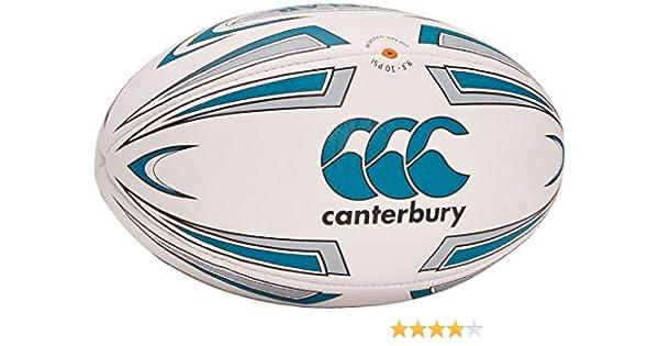 Canterbury Acelar - Pelota de Rugby, Color Blanco, Talla Size 5: Amazon.es: Deportes y aire libre