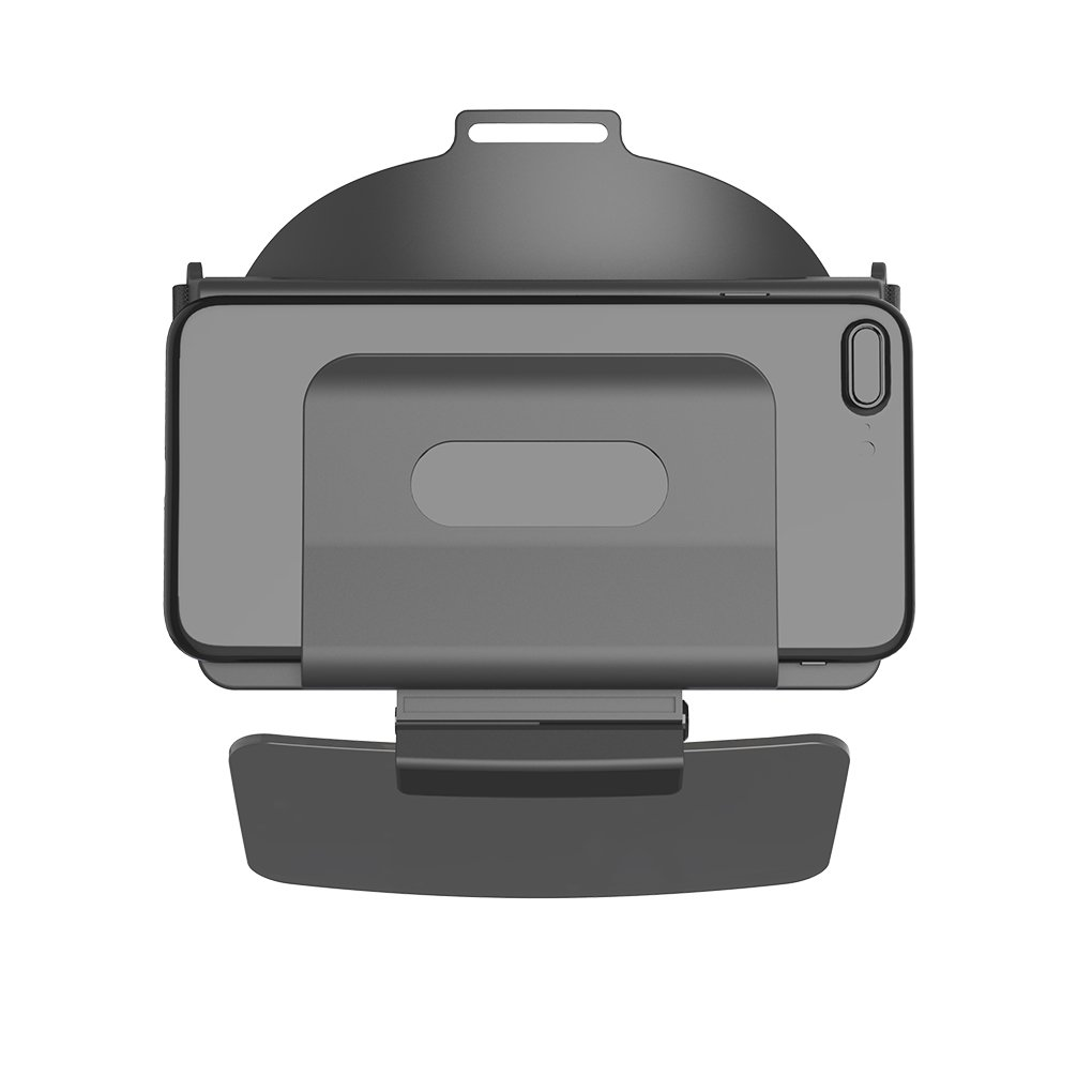 Tralntion FOV 69°AR Viewer Headset Smart Augmented Reality Glasses Suitable for iOS/Android 4-5.5 Inch Screen Smartphones